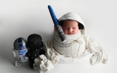 fotografía de bebé:  Leia